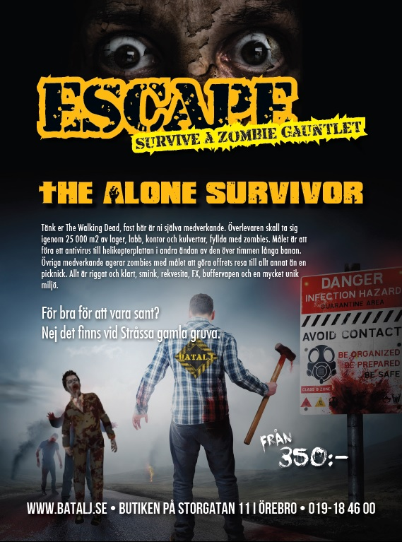 Zombie Escape Alone survivor