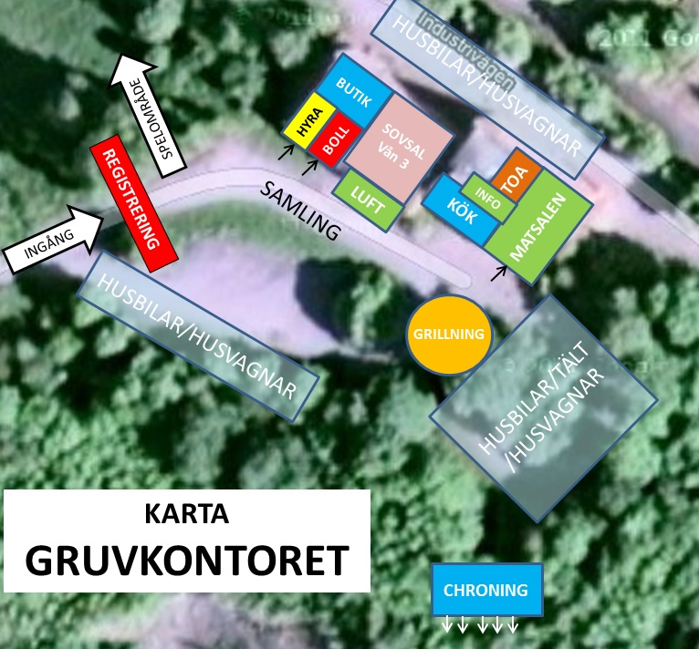 KARTA GRUVKONTORET